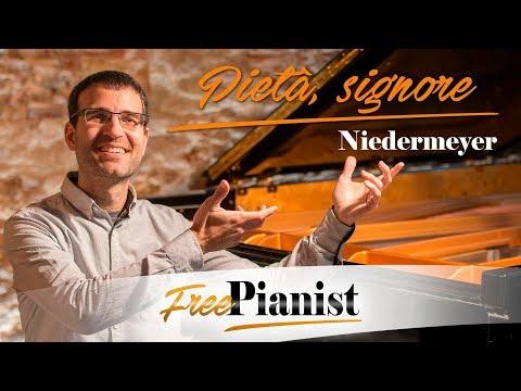 Pietà, signore - Low voices - KARAOKE / PIANO ACCOMPANIMENT - Stradella - Niedermeyer