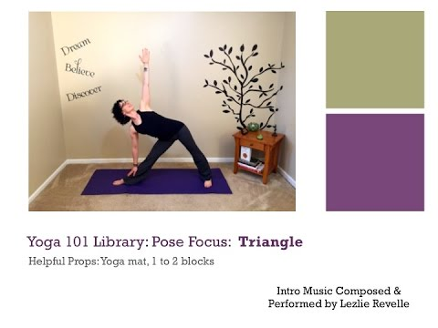 yoga 101 library pose focus triangle  youtube