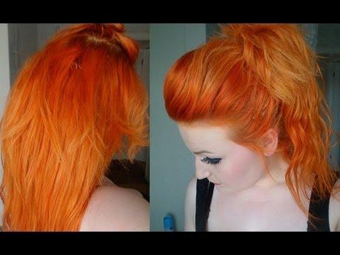 Dying My Hair Orange YouTube