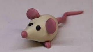 DIY/ Мышь из пластилина