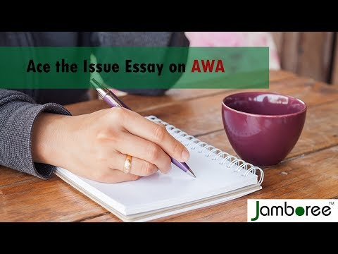 Ace The GRE AWA Issue Essay