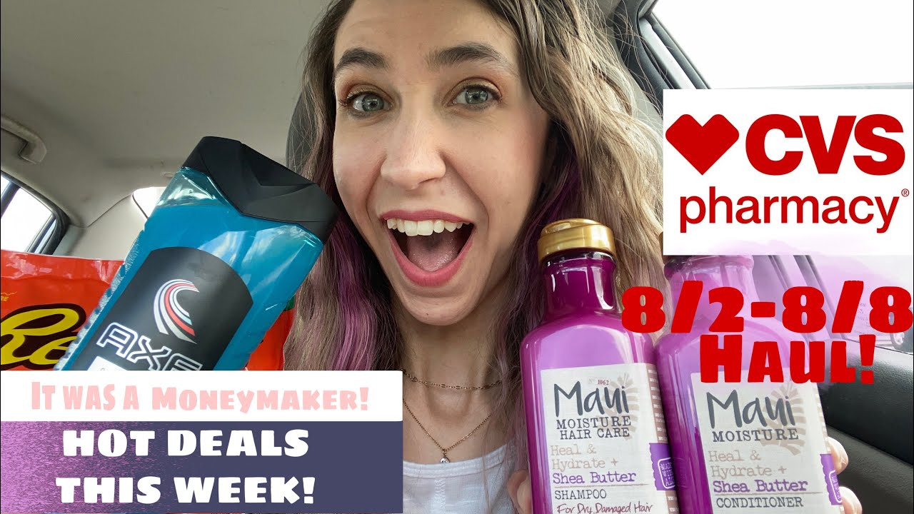 CVS HAUL 8/2-8/8 | EASY DEALS THIS WEEK WITH & WITHOUT CRT'S!
