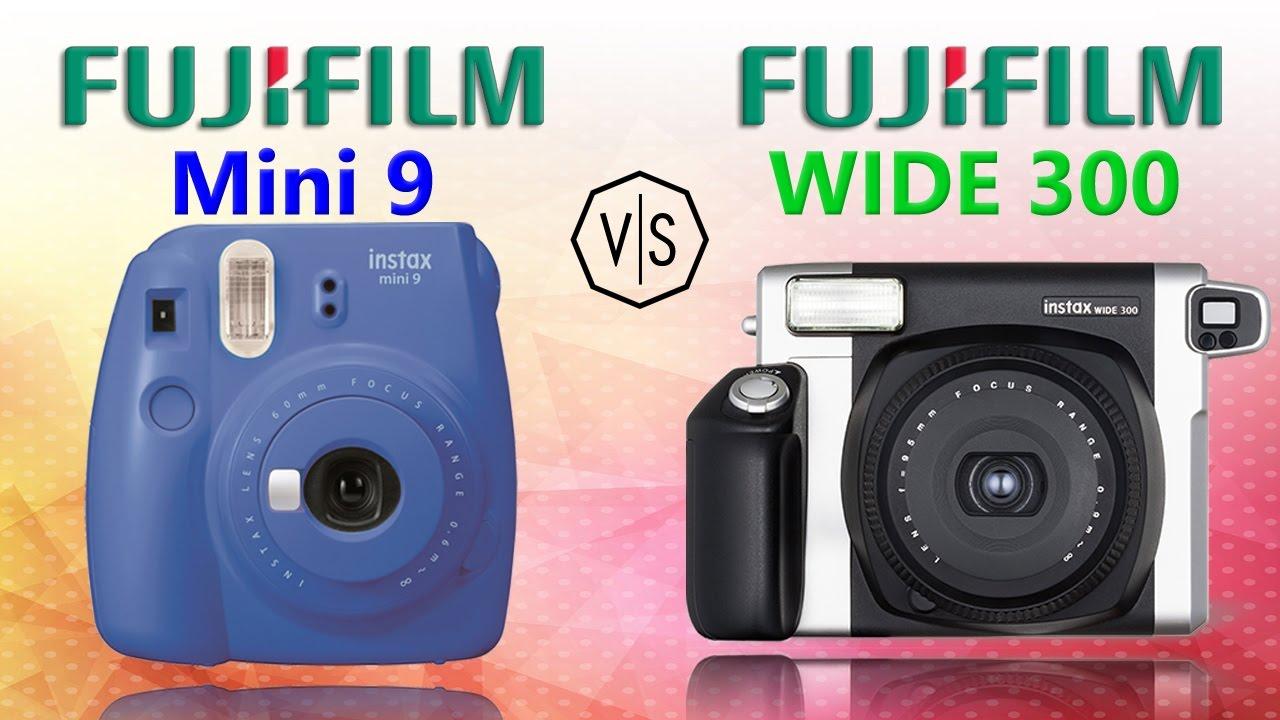 Fujifilm Instax Mini 9 vs Fujifilm Instax WIDE 300