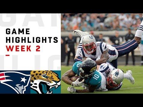Patriots vs. Jaguars Week 2 Highlights | NFL 2018