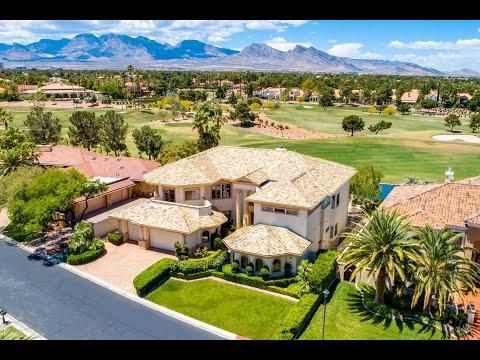 Luxury Golf Course Home   8900 Canyon Springs   Las Vegas NV