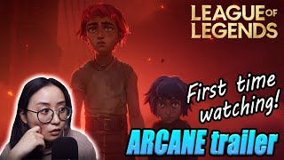 "My REACTION to ""Arcane: Animated Series Announcement"" 