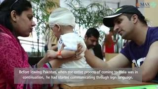How Cochlear Implant Surgery Helped Ayaan To Recover From Hearing Impairment - Max Hospital