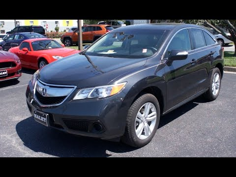 2015 Acura RDX AWD Walkaround, Start up, Tour and Overview