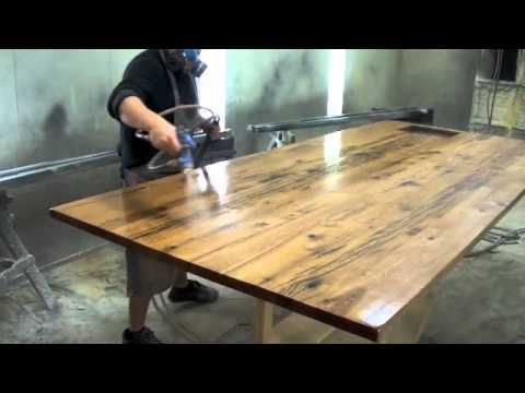 Best Finish For Reclaimed Wood Table