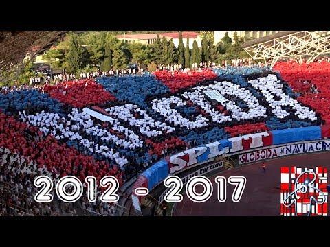 Kompilacija Koreografija Torcide - Hajduk - Poljud 2012 - 2017