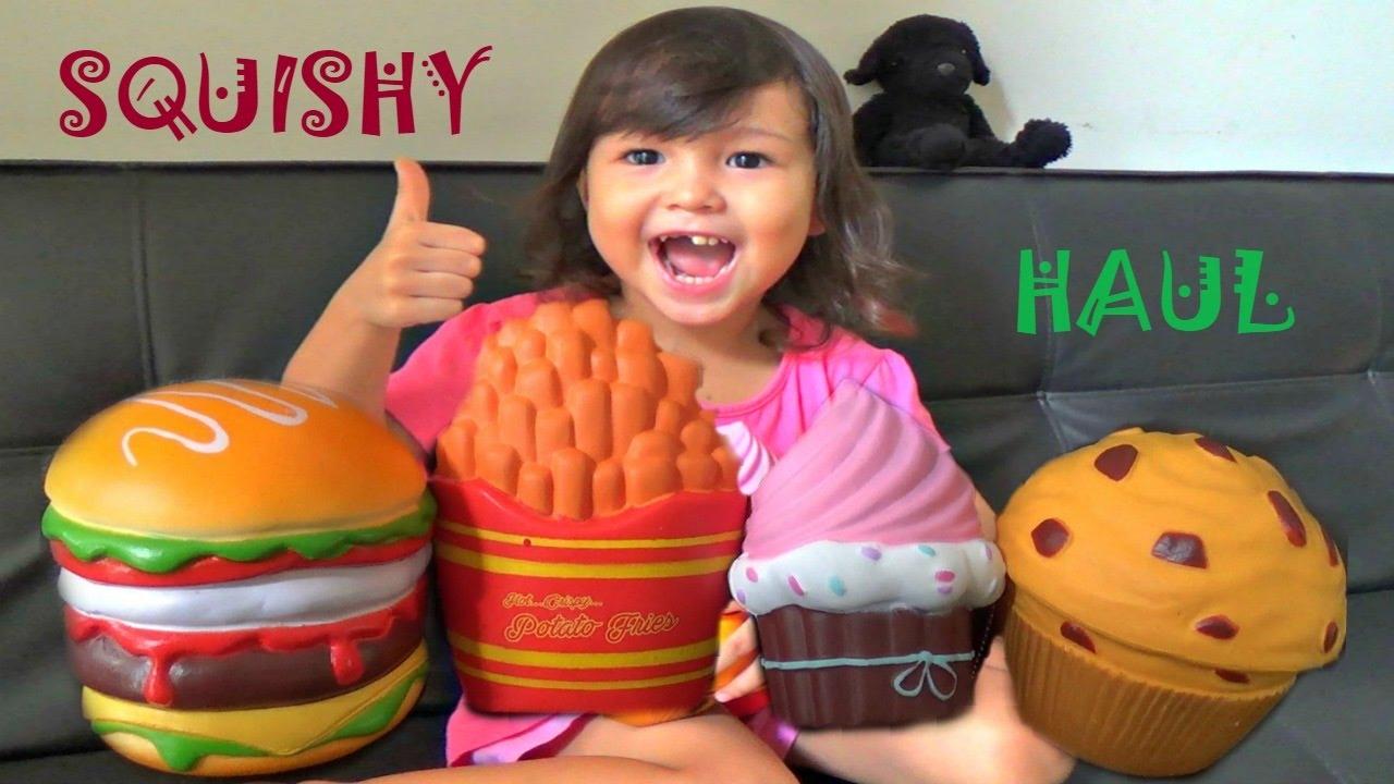 SQUISHY HAUL - New Squishy Toys! - YouTube