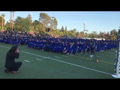 Palisades High School graduation 2017