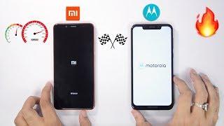 Moto One Power vs Redmi Note 5 Pro Speedtest Comparison & RAM Management 🔥