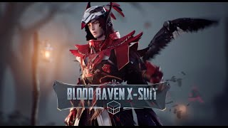PUBG MOBILE | A Closer Look at the Blood Raven X-Suit