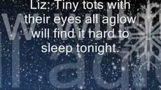 Ariana Grande + Elizabeth Gillies - Chestnuts Roasting Lyrics