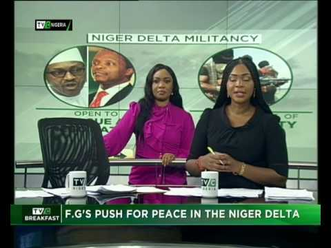 FG pushes for peace in the Niger Delta