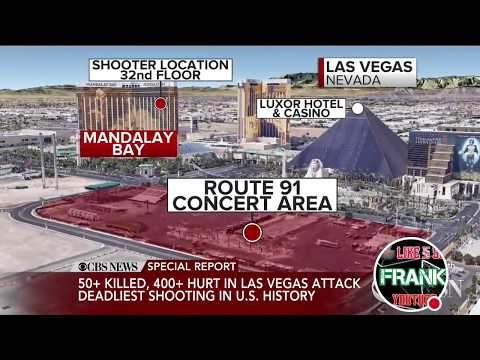 LAS VEGAS MASSACRE shooting 58+ dead, 515+ injured