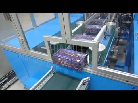 Facial Tissue Converting Machine by Hinnli Factory