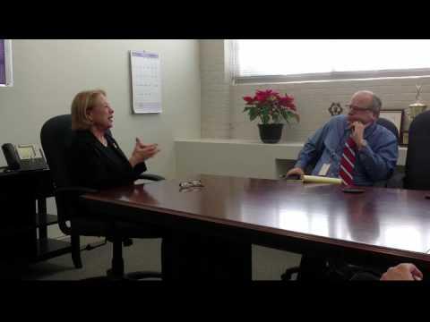 Sun editorial board meeting with Nikki Tsongas