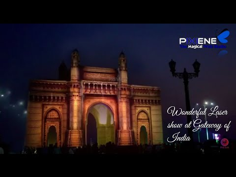 India's Best and Biggest Laser show at Gateway of India | Mumbai | Salute the Great work by India.