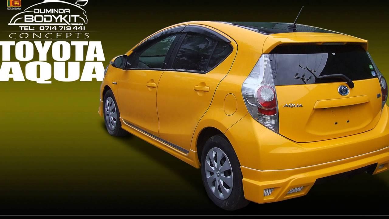 Toyota Aqua Bodykits By Duminda International