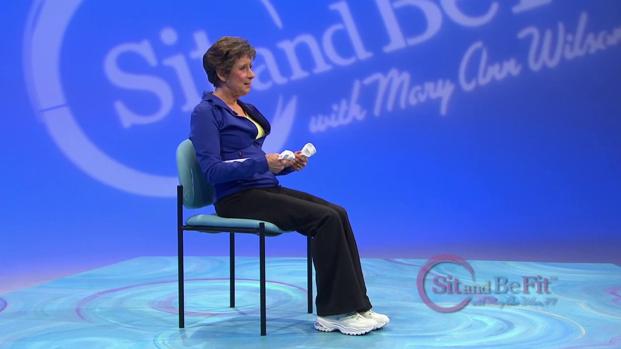 Sit And Be Fit Towel Exercise Mary Ann Wilson Rn