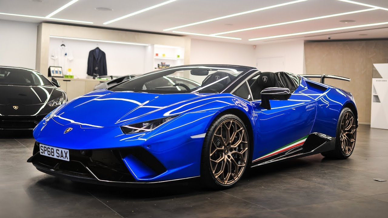 Collection Day 2018 Lamborghini Huracan Performante Spyder Youtube