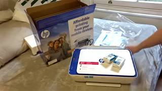 Unboxing HP Printer Deskjet 2630