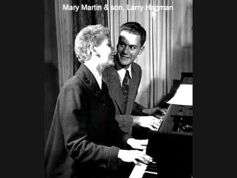 GET OUT THOSE OLD RECORDS 45rpm by MARY MARTIN & Son (LARRY HAGMAN) from 1950