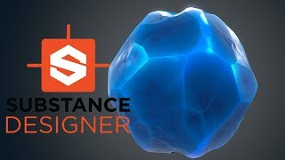 Substance Designer - Stylized Crystal Material
