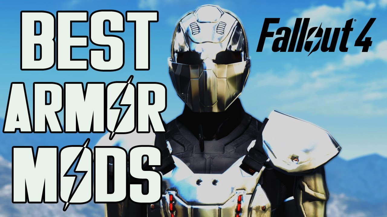 Fallout 4 Top 10 Mod Armor Sets 2 Youtube