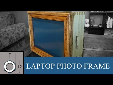 Make a Digital Photo Frame from an old Laptop