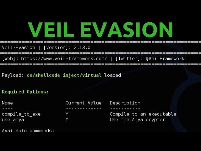 Veil-Evasion Complete Tutorial