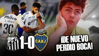 Santos 1 Boca 0 | Reacciones De Un Hincha De Boca | Copa Libertadores 2021