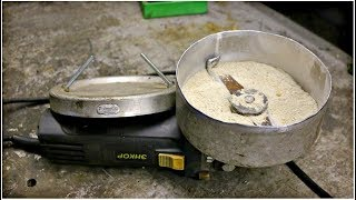 как сделать крупорушку из болгарки