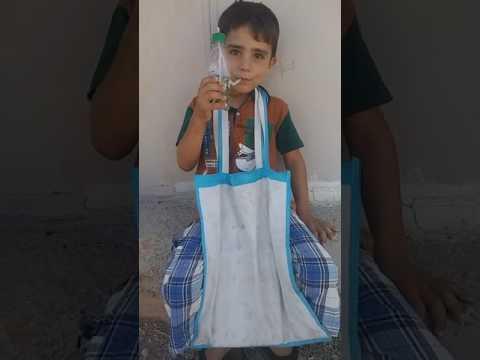 Nargile içen suriyeli mülteci çocuk 😊