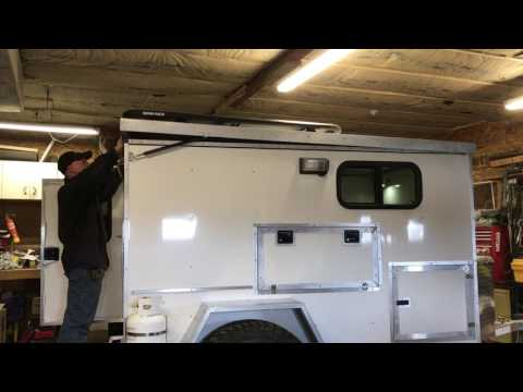 My off-road camper roof lift - YouTube