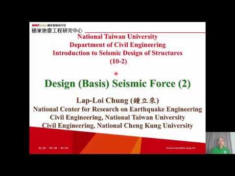 1061-NTU-SDS-10-2-Design (Basis) Seismic Force (2) Lap-Loi Chung