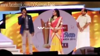 Vanitha Film Award 2013   Dulquar Salmaan , Fahad Fazil , Rima Kalingal, Nithya Menon