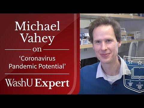 Coronavirus Pandemic Potential | Washington University