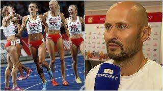 Trener złotej sztafety: Justyna Święty mnie