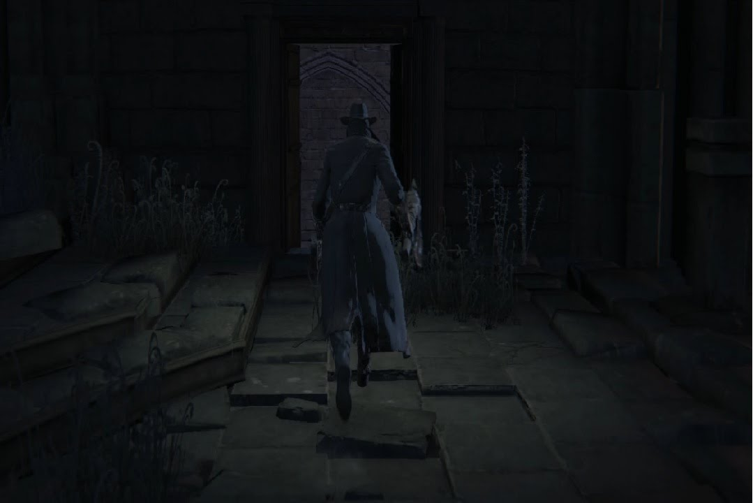 Bloodborne Open the First Door After the Second Lamp Save Point in ...