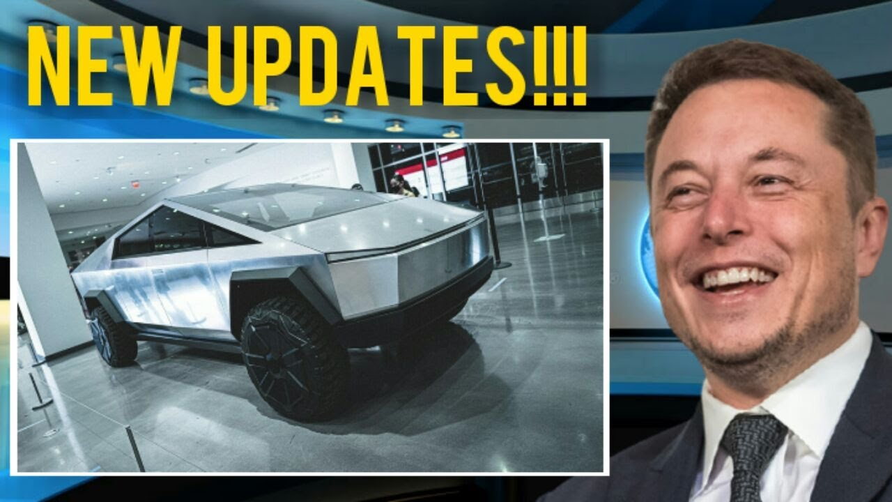 VERY COOL Tesla Cybertruck Final Design Changes Confirmed by Elon Musk + Tesla Semi Truck