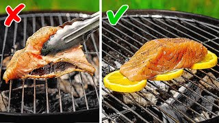 GENIUS HACKS TO BECOME A BBQ MASTER || 5-Minute Fried Hacks and Grill Tips