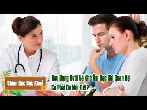 Bị đau bụng dưới và khô âm đạo khi quan hệ là do nguyên nhân gì?
