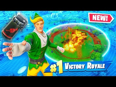 *NEW* Airstrike Grenades in Fortnite! (Very OP)