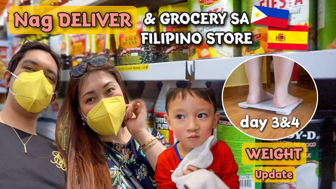 DAILY WEIGHT UPDATE Day 3&4 NUMINIPIS NA😁 BUHAY TINDERA ABROAD🇪🇸 GROCERY TAYO SA FILIPINO STORE!
