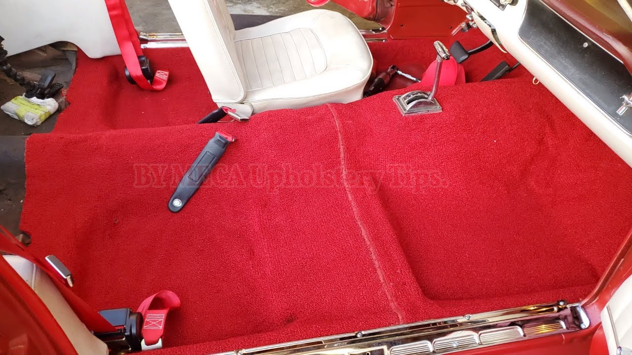 How To Replace 1965 Ford Mustang Ready Made Carpet Youtube
