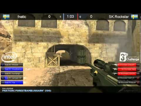Intel IO Core Challenge Grand Final fnatic vs. SK Gaming Map 1 de_dust2 Chinese Stream VOD