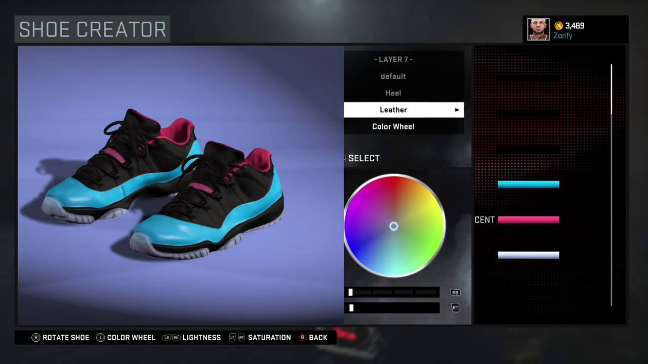 aecffb4ef35d NBA 2K16 Shoe Creator - Air Jordan 11 Low Custom